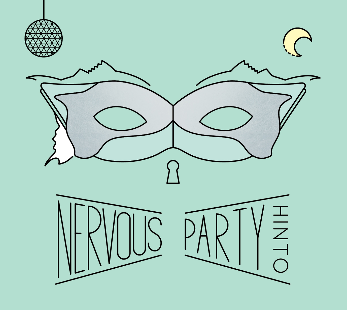 2nd full album「NERVOUS PARTY」